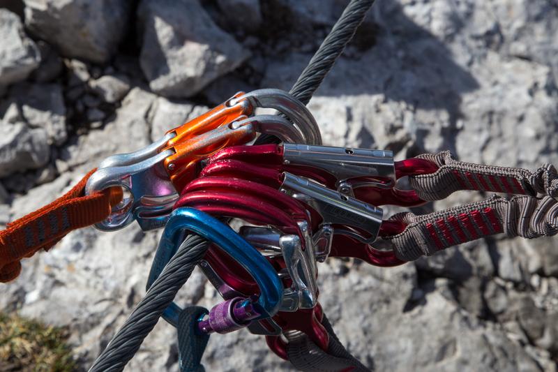 Klettersteigset Selber Knoten : Details alpenverein mindelheim